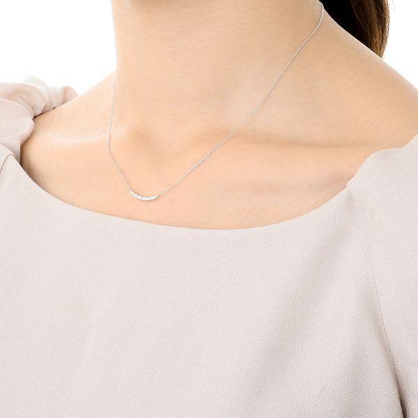 ホワイトゴールド ネックレス ダイヤモンド 彼女 プレゼント ウィスプ 誕生日 送料無料 レディース|jwell|06