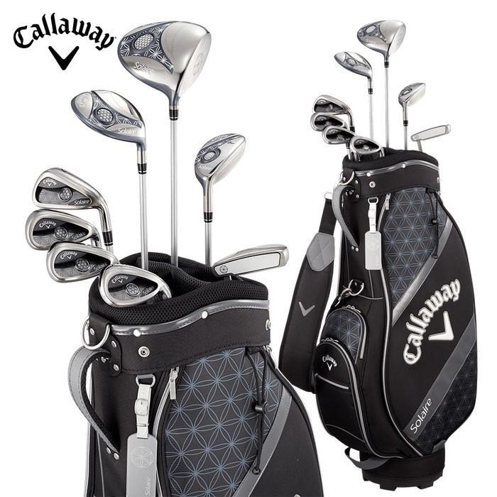 キャロウェイ ソレイル パッケージセット レディースクラブセット Callaway Solaire GOLF ゴルフクラブ ブラック(日本正規品)(新品)(即納)(あすつく対応)