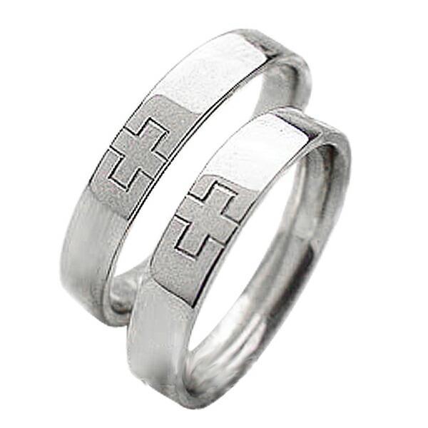 海外ブランド  結婚指輪 プラチナ クロス クロス マリッジリング 十字架 ペアリング 指輪 プラチナ Pt900 ペアリング 2本セット, ポケットコンビニ:1810eb4d --- airmodconsu.dominiotemporario.com