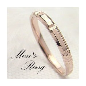 【5%OFF】 メンズリング ピンクゴールドK18 K18PG シンプルデザイン 指輪 Men'sring K18PG メンズリング 誕生日 記念日 記念日, カスミチョウ:fe08f6aa --- airmodconsu.dominiotemporario.com