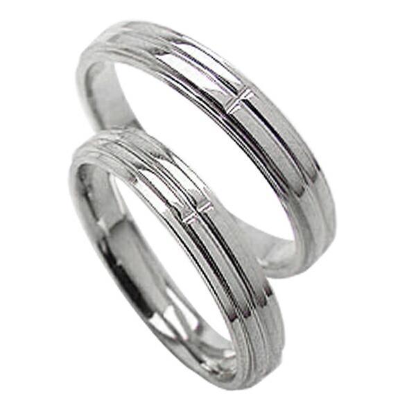 最高の品質 結婚指輪 プラチナ クロスペアリング Pt900 十字架 マリッジリング カップル ホワイトデー プレゼントに, 総合福祉アビリティーズ d28cb592