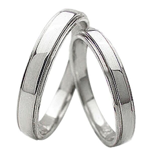 1着でも送料無料 結婚指輪 プラチナ ペアリング シンプル 段差デザイン Pt900 マリッジリング 2本セット カップル ホワイトデー プレゼントに, カミノヤマシ 0c01f381