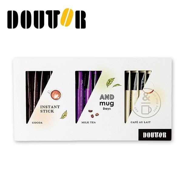 ドトールコーヒー インスタントスティックセット 21本 〈DTS-15〉 コーヒー 名入れ 詰め合わせ ギフト 出産内祝い 手土産 お返し 内祝い|jyoei