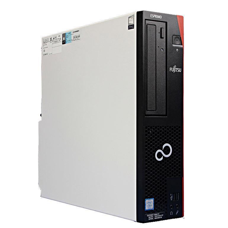 安心の1年保証! 当店カスタマイズ 中古 デスクトップパソコン 富士通  ESPRIMO D588/CX Windows10 Core i3 9100 3.60GHz メモリ8GB 新品SSD240GB DVDマルチ|jyohokaikan-ys|02