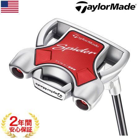 テーラーメイド TaylorMade 2018 SPIDER TOUR DIAMOND 銀 (スパイダーツアー ダイヤモンドシルバー) パター [L字型ネック] (USA直輸入品) USモデル