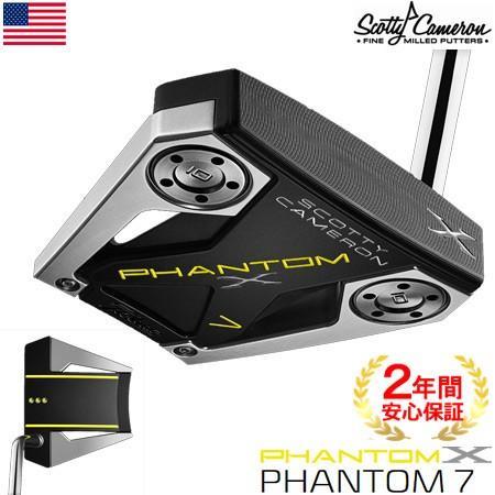 スコッティキャメロン 2019 PHANTOM X パター(7) ミッドベンドシャフト USA直輸入品