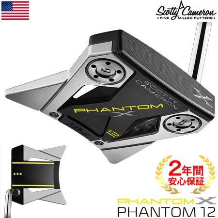スコッティキャメロン 2019 PHANTOM X パター(12) ミッドベンドシャフト USA直輸入品