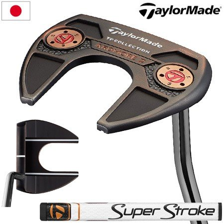 テーラーメイド 2019 TPコレクション 黒 COPPER ARDMORE2(アードモア2) パター 日本正規品