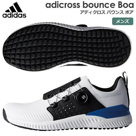 アディダス adidas メンズ adicross bounce Boa (アディクロス バウンス ボア) スパイクレスシューズ F33573 2018年モデル