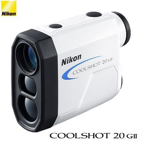 Nikon ニコン COOLSHOT 20 GII (クールショット) G-801 ゴルフ用レーザー距離計 2019年モデル
