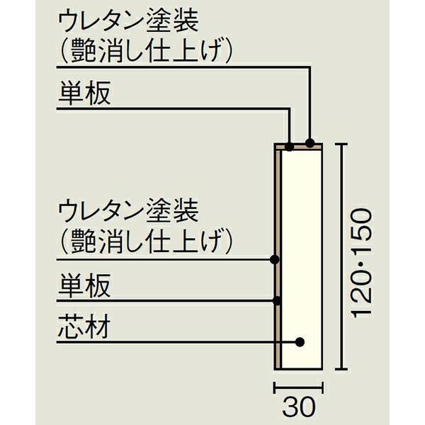 玄関廻り部材 玄関巾木 艶消し仕上げ   1900×30×150mm WOODONE ウッドワン 床材 フローリング|jyu-tus|02