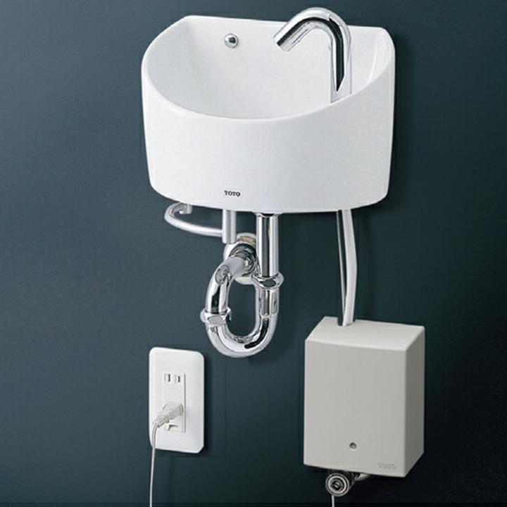 【LSE90AAPR】TOTO 壁掛手洗器セット一式 丸形 L90系 【トートー】