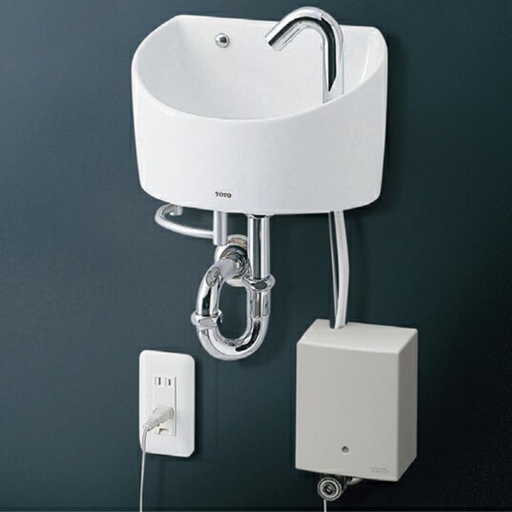 【LSE90AASZ】TOTO 壁掛手洗器セット一式 丸形 L90系 【トートー】