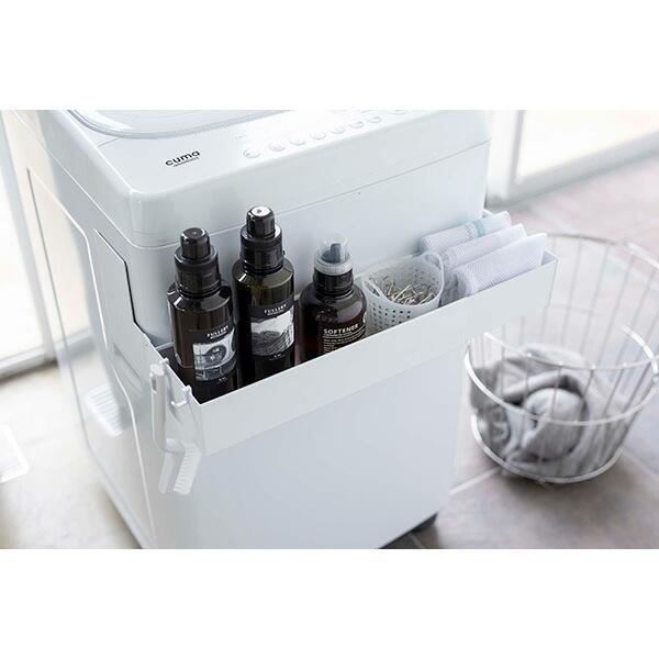 山崎実業 マグネット伸縮洗濯機ラック タワー ホワイト 品番 05272|jyusetsupro|04