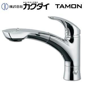 カクダイ キッチン用蛇口 TAMON 118-027