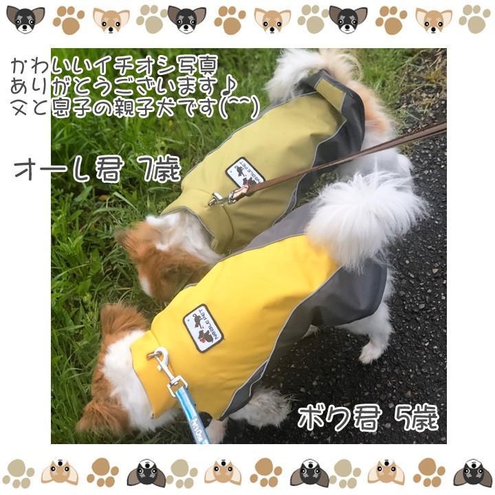 着せやすい犬用レインコート 犬 服 犬服 犬の服  トイプードル チワワ 着せやすい レインコート 雨 ドッグウェア カッパ マジックテープ 雨具 お出かけ 送料無料|k-city|10