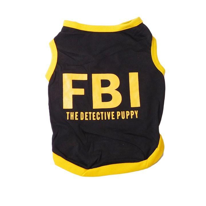 犬 服 犬服 犬の服 おしゃれ トイプードル チワワ ドッグウェア タンクトップ FBI 送料無料|k-city|05