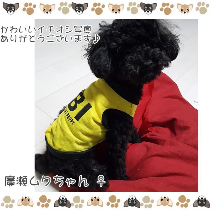 犬 服 犬服 犬の服 おしゃれ トイプードル チワワ ドッグウェア タンクトップ FBI 送料無料|k-city|07