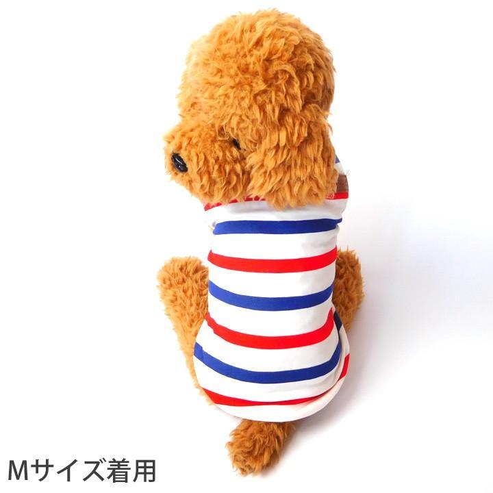犬 服 犬服 犬の服 おしゃれ トイプードル チワワ タンクトップ ボーダー クラシック ドッグウェア|k-city|02