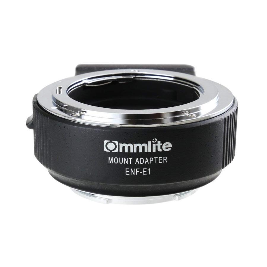 最高の品質の Commlite Commlite コムライト 電子接点付 レンズマウントアダプター 変換) CM-ENF-E1 PRO (ニコンFマウントレンズ (Gタイプ対応)→ ソニーEマウント 変換) 電子接点付, 元祖ティラミスチョコピュアレ:f4c37c8c --- file.aperion.it