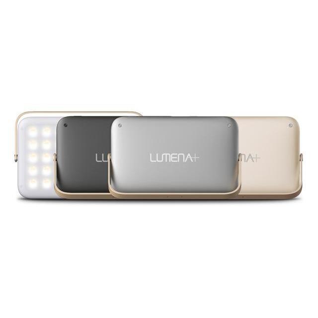 正規品 LUMENA ルーメナー プラス LEDランタン グレイ/ブラック/ゴールド 1年保証