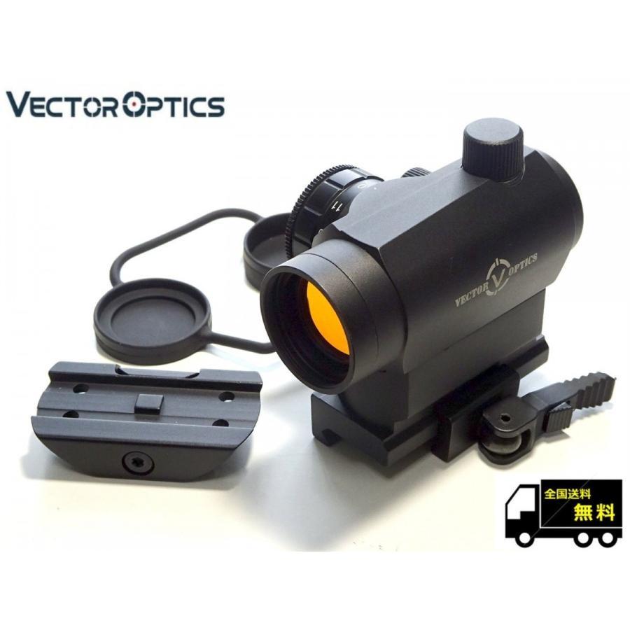 実物 VECTOR OPTICS ベクターオプティクス Maverick TAC  マーベリック T1タイプ ドットサイト 実銃対応 1x22 保証付き k-havens