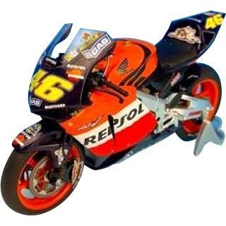 〔送料無料・メーカー直送〕ツインリンクもてぎ限定 HONDA RC211V 2003 V.Rossi(REPSOL) 日本GP仕様 1/12スケール TRM12002VR