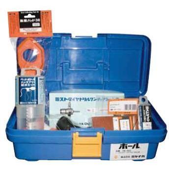 ミヤナガ ミストダイヤ ミストダイヤドリル(ワンタッチタイプ)BOXキット 有効長100mm 6.5mm