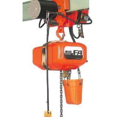 【代引き不可】象印チェンブロック FA型(過負荷防止付) 三相200V 4点押ボタン電気チェーンブロック(電気トロリ) 揚程6m 0.9t FA3M-0.9
