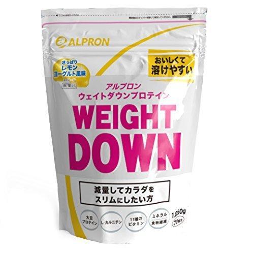 アルプロン ウェイトダウン大豆プロテイン 1050g【約70食分】レモンヨーグルト風味(ソイ ALPRON 国内生産)|k-media