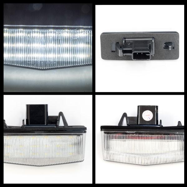 C-HR ライセンスランプ LEDナンバー灯ユニット ZYX10/NGX50 純正LED車 高輝度 81204-76010 クールホワイト 白 (送料無料)|k-o-shop|06