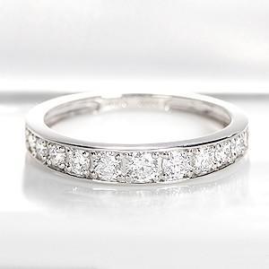 超安い品質 Pt900 ダイヤモンド 0.50ct フチあり エタニティ ダイヤモンド リング エタニティ リング 送料無料, 柏崎市:e6c5623e --- airmodconsu.dominiotemporario.com