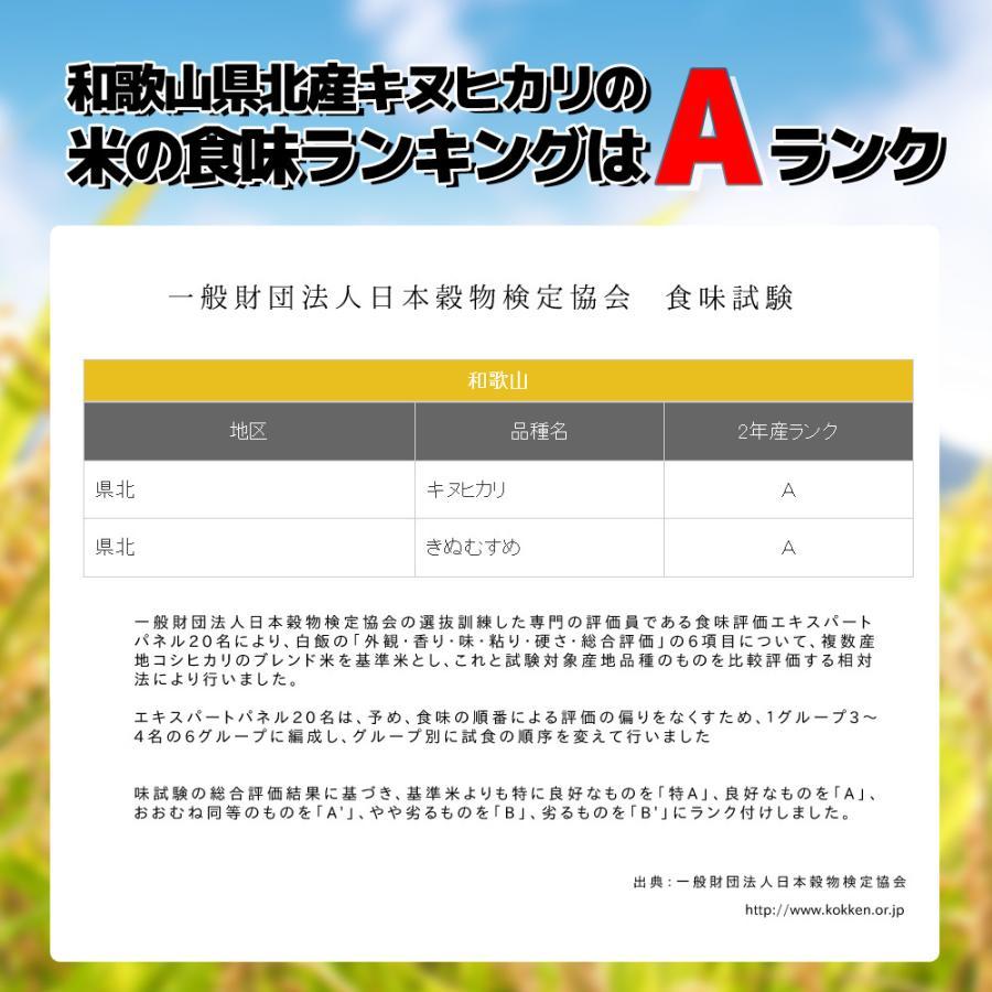 米 お試し 送料無料 和歌山県産 赤津直基さんのキヌヒカリ 150g メール便 ポイント消化 k-yorozuya 03