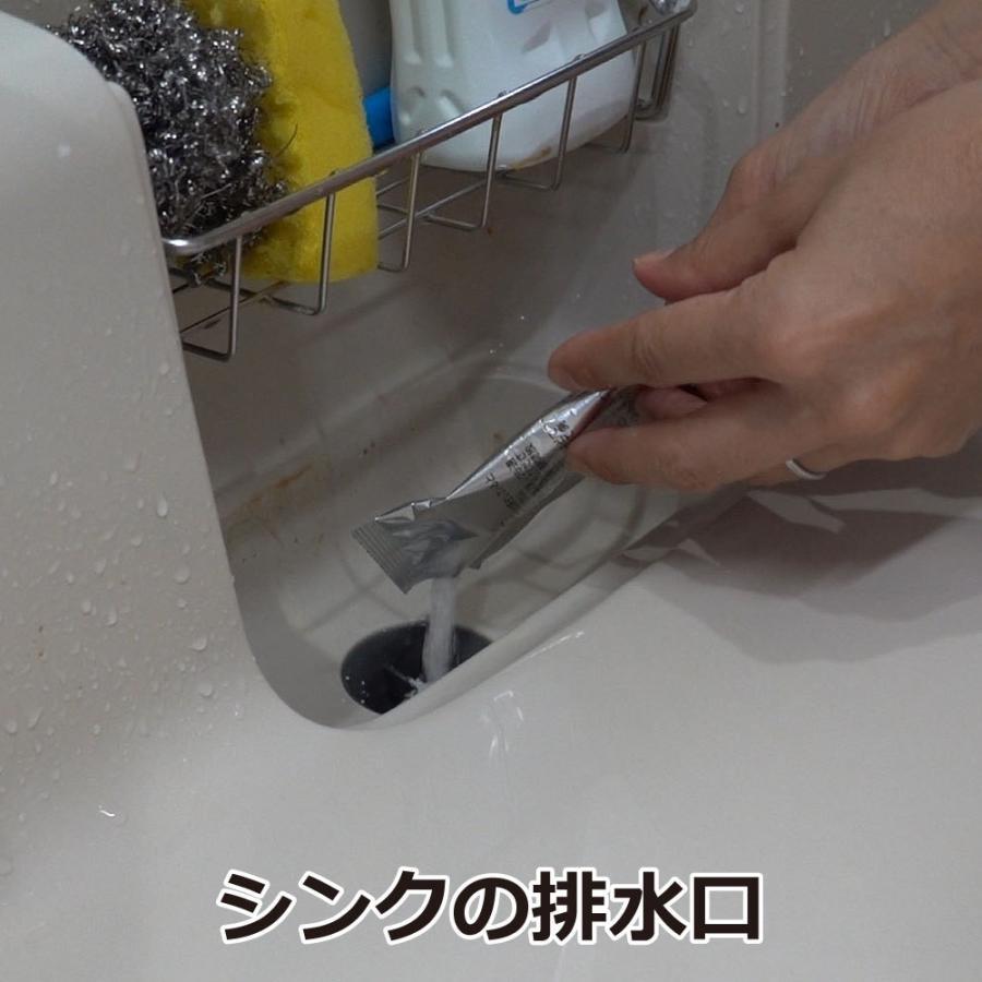 チョウバエ コバエ 駆除 業務用チョウバエバスター 25g×10袋 排水口 洗浄除菌|ka-dotcom|02