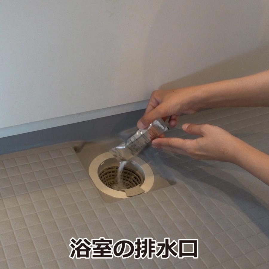チョウバエ コバエ 駆除 業務用チョウバエバスター 25g×10袋 排水口 洗浄除菌|ka-dotcom|03