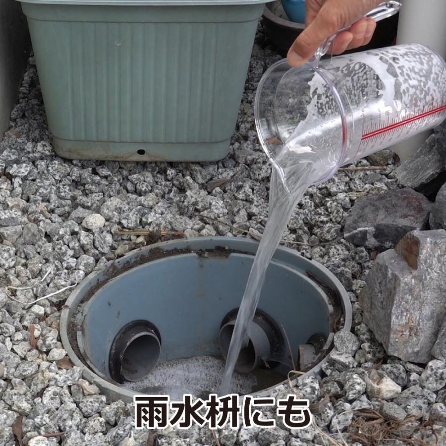 チョウバエ コバエ 駆除 業務用チョウバエバスター 25g×10袋 排水口 洗浄除菌|ka-dotcom|05