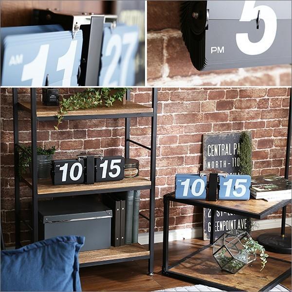 シンプル&レトロデザイン フリップクロック(置き・壁掛け兼用) パタパタ時計Tinks-ティンクス- YOG|ka-grande|10