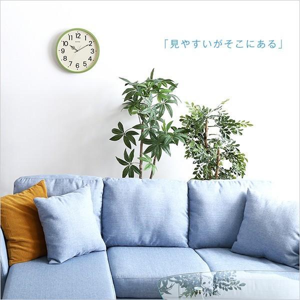 掛け時計 ナチュラルなインテリアにぴったり メーカー保証1年|オルロージュリフレ YOG|ka-grande|05