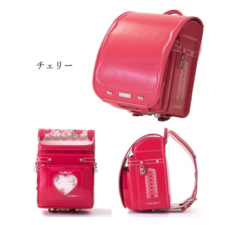 2022 フィットちゃん LIZLISA リズリサ ランドセル 女の子 1LZ3724K クラリーノF 刺繍 日本製 A4フラットファイル対応 学習院型 6年保証|kaban-kimura|04