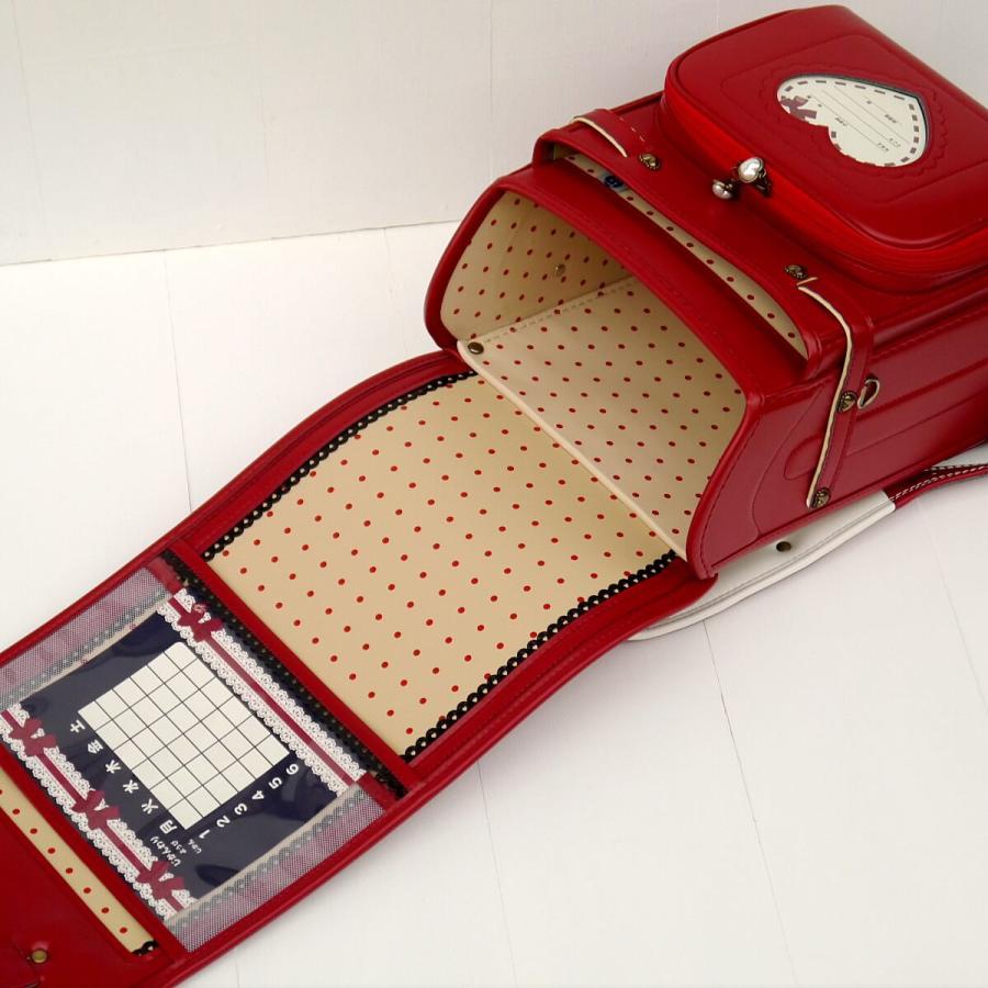 2022 ShirleyTemple シャーリーテンプル ランドセル 百貨店モデル 女の子 1ST1734K クラリーノF A4フラットファイル対応 フラットキューブ 日本製 6年保証 kaban-kimura 08