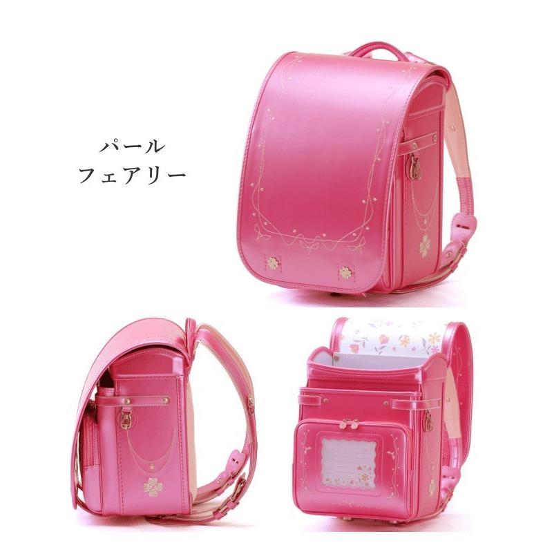 2022 フィットちゃん プラチナクローバー ランドセル 女の子 FE-3813 クラリーノF 刺繍 日本製 A4フラットファイル対応 コンパクト 6年保証 kaban-kimura 07
