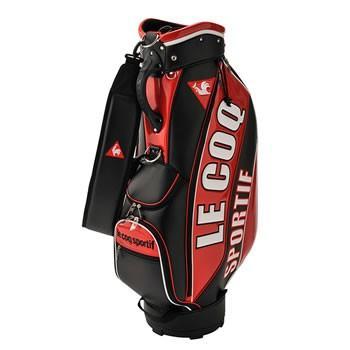 QQBNJJ05-RD00 ルコック ゴルフ キャディバッグ (レッド)