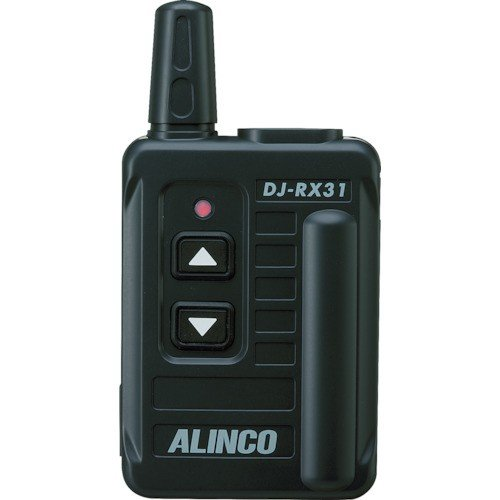 アルインコ DJRX31 アルインコ 特定小電力 無線ガイドシステム 受信機