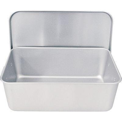 APV4901 アルマイト重なるパン箱(蓋付)