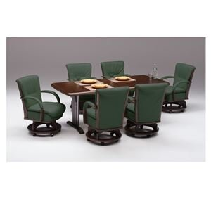 ds-1867711 【チェア別売り】ダイニングテーブル/リビングテーブル 【長方形/幅180cm】 ブラウン 『サム』 木製 6人掛け 木目調【代引不可】