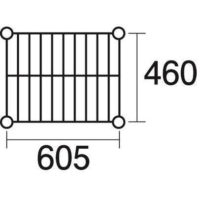 KND-137038 ステンレスエレクター 棚 SMS610 (KND137038)