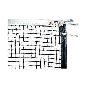 ds-2252756 KTネット 全天候式上部ダブル 硬式テニスネット センターストラップ付き 日本製 【サイズ:12.65×1.07m】 ブラック KT6227 (ds2252756)
