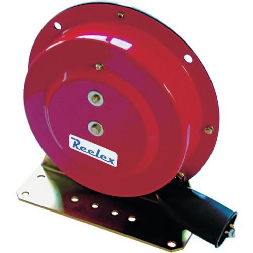 中発販売 4993091100277 Reelex 自動巻アースリール据え置き取付タイプ50Aアースクリップ付
