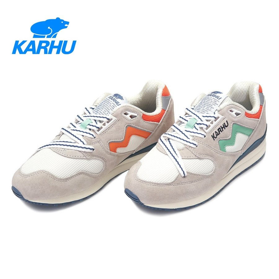 KARHU カルフ SYNCHRON CLASSIC シンクロン クラシック Rainy Day/Jade cream レイニーデイ/ジェイドクリーム KH802657|kadotation