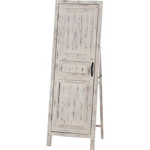 アンティーク風木製スタンドミラー(ドア風扉付き) ソーレ ホワイト 木製スタンドミラー(ドア風扉付) ソーレ ソーレ ホワイト tsm-13wh
